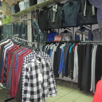 Отдел мужской одежды Жак