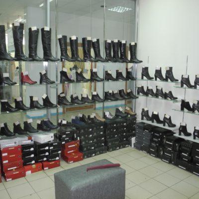 Отдел обуви Аллея